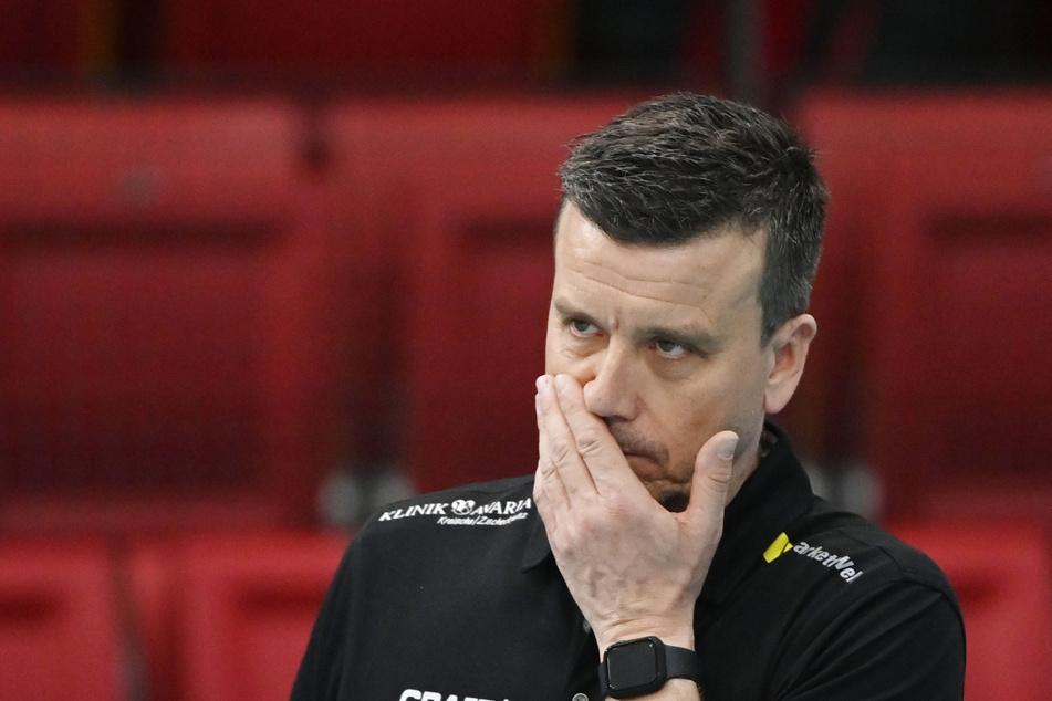 Hat DSC-Coach Alexander Waibl (53) fürs dritte Spiel noch irgendwas in petto?