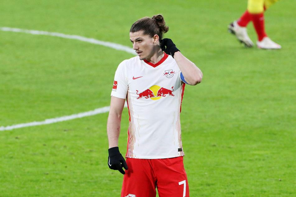 Das Werben von Tottenham Hotspur um Marcel Sabitzer (26) will RB Leipzig mit einer Vertragsverlängerung unterbinden.