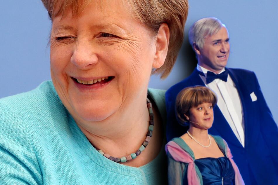 """Kabarettist Krebs zollt Merkel Respekt: """"Sehr humorvoll und geistreich"""""""