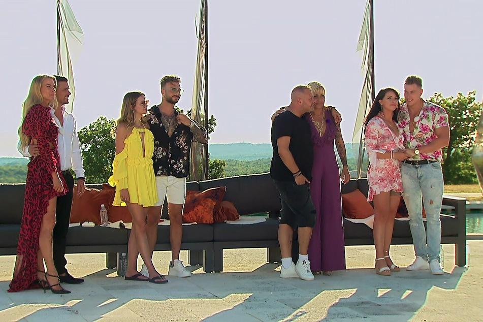 """Vier Promi-Paare testen bei """"Temptation Island VIP"""" ihre Treue."""