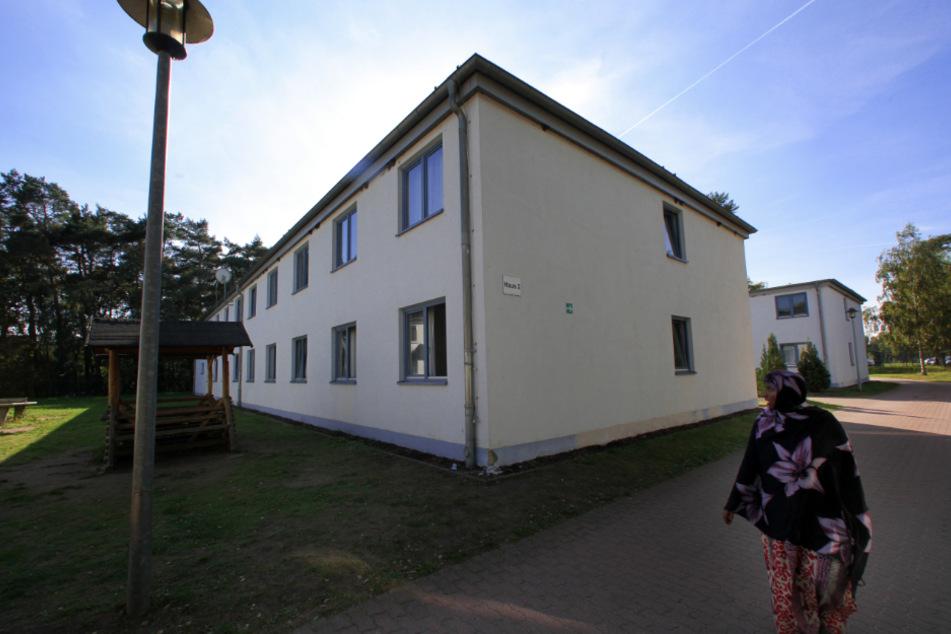Die Unterkunft Nostorf/Horst gilt als Erstaufnahmeheim für Flüchtlinge.