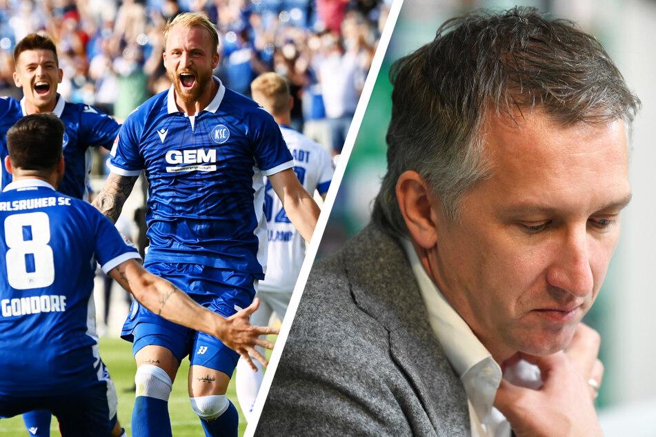 Philipp Hofmann (28, linkes Bild, r.) stand offenbar beim SV Werder Bremen und Manager Frank Baumann (45, rechtes Bild) auf der Liste.