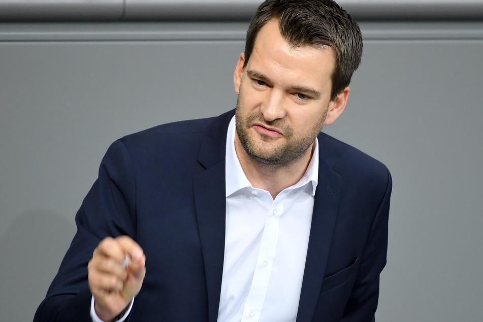 Johannes Vogel (FDP) spricht im Bundestag.