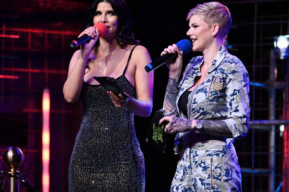 "Micaela und Melanie am Freitagabend im ""Roast Battle""."