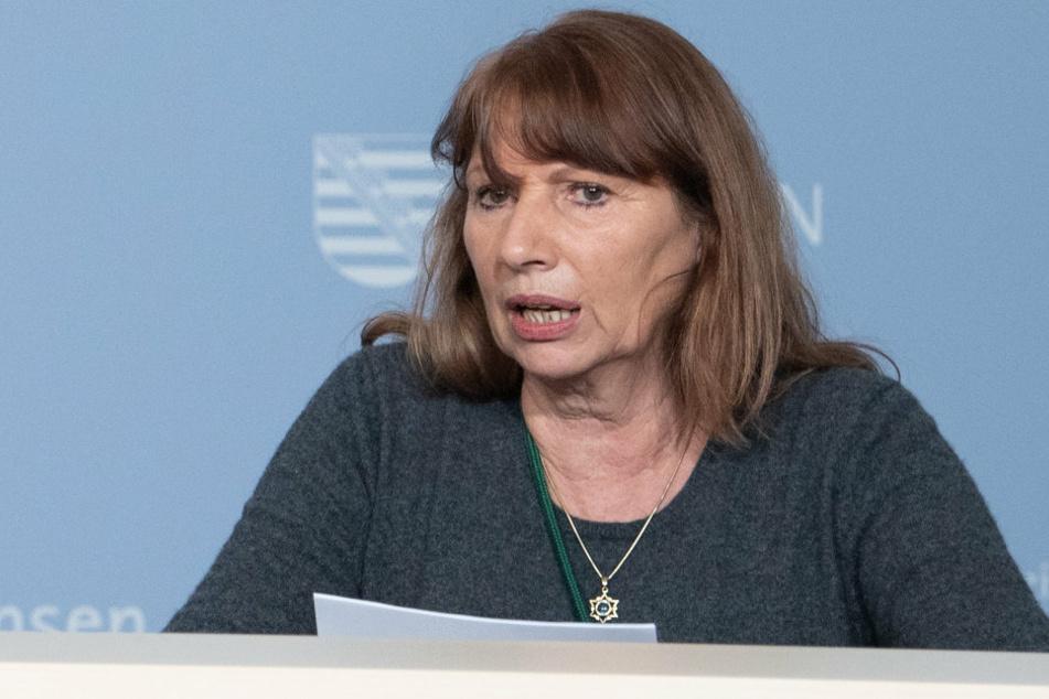 Gesundheitsministerin Petra Köpping (62, SPD) freut sich, dass es bei den Impfungen voran geht. Doch es gibt Luft nach oben.