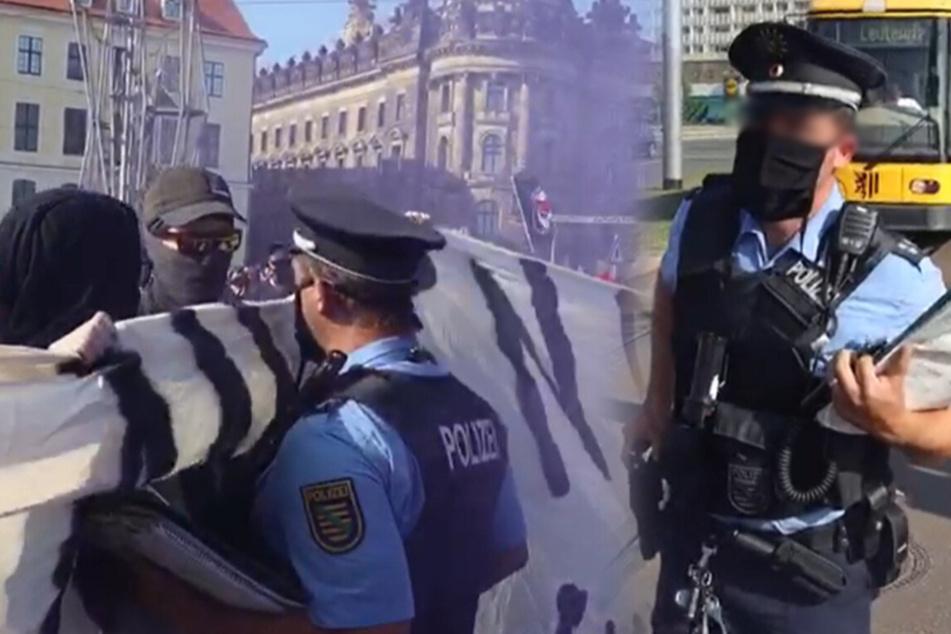 "Eskalation nach Seebrücke-Demo, Polizist droht: ""Schubs mich und Du fängst Dir 'ne Kugel!"""