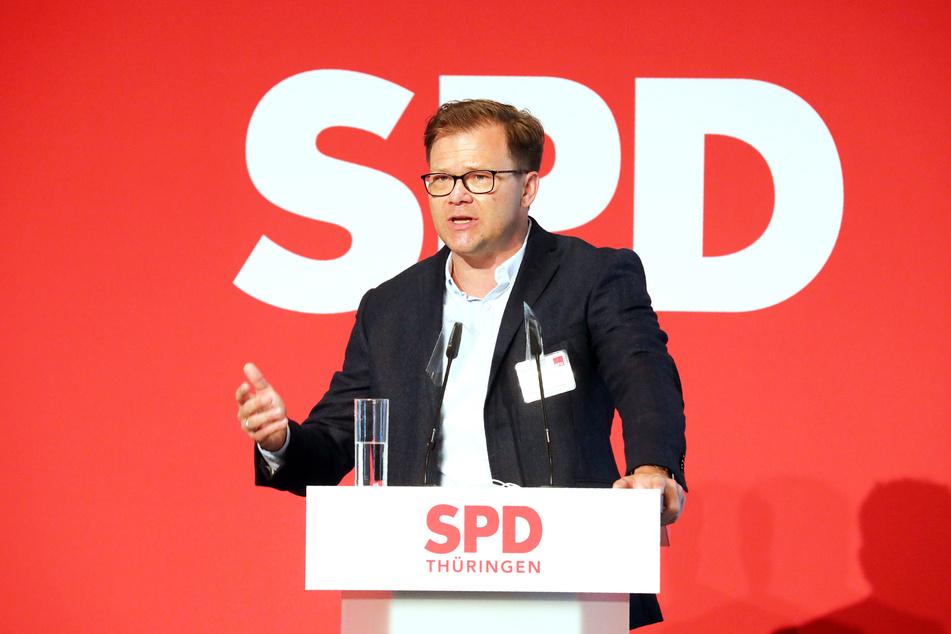 Carsten Schneider (SPD), Bundestagsabgeordneter und Spitzenkandidat der Thüringer SPD für die Bundestagswahl.