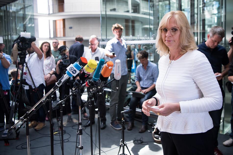 Die Vorsitzende des Bundestagsinnenausschusses, Andrea Lindholz (50, CSU).