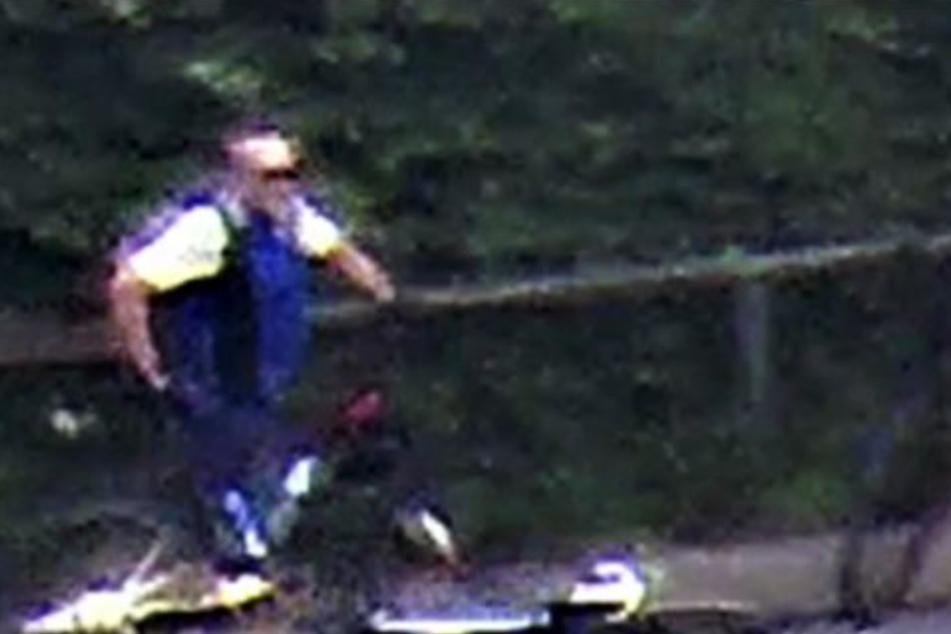 Mit diesen Fotos sucht die Polizei nach dem Flüchtigen.