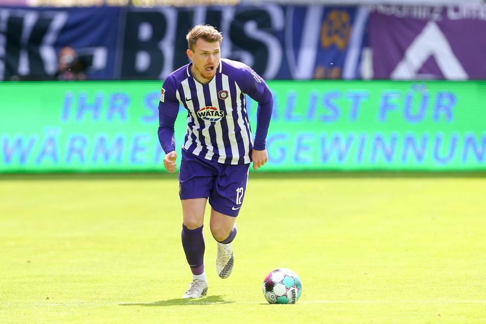 Steve Breitkreuz (29) verlässt den FC Erzgebirge Aue.