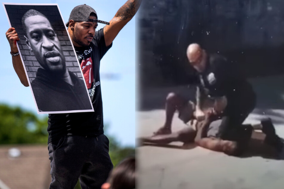 Der nächste George Floyd? Polizist kniet auf Hals von Verdächtigem