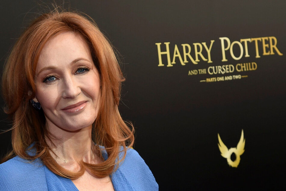 Die Autorin J.K. Rowling.