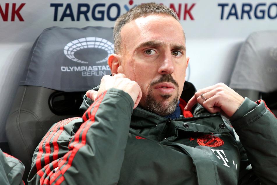 Franck Ribéry (37) ist beim FC Bayern München ein absoluter Starspieler gewesen.