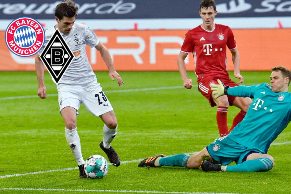 Flutlicht-Kracher mit fünf Toren! FC Bayern kassiert bittere Pleite gegen Gladbach