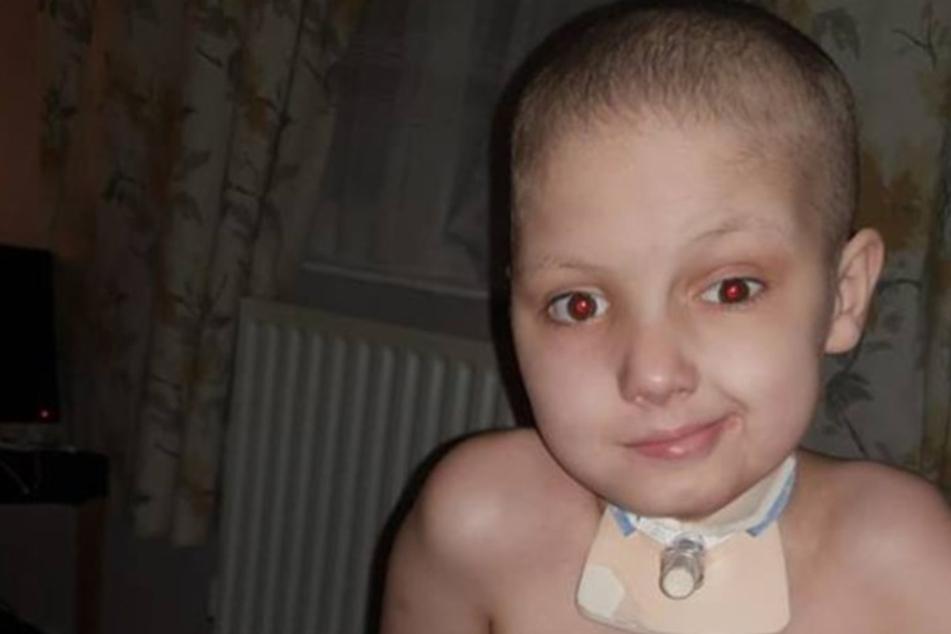 Ilhan leidet unter dem bösartigen Tumor. Und muss viel Chemotherapie über sich ergehen lassen.