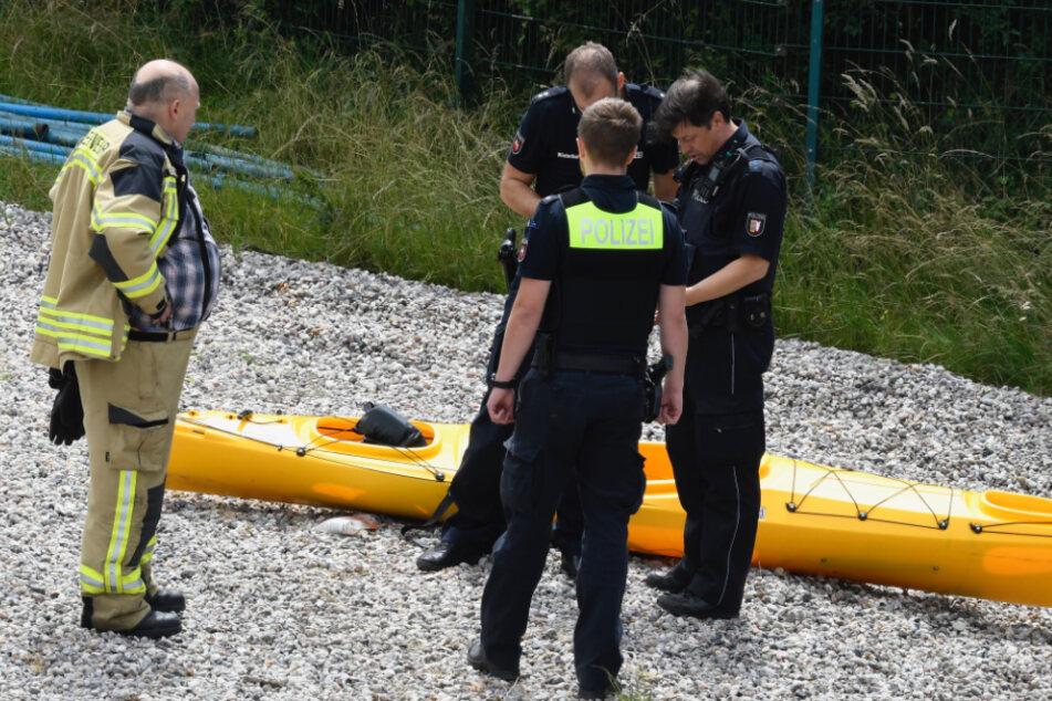 Unglück auf der Elbe: Kajakfahrer aus Sachsen gerät in gefährliches Wehr