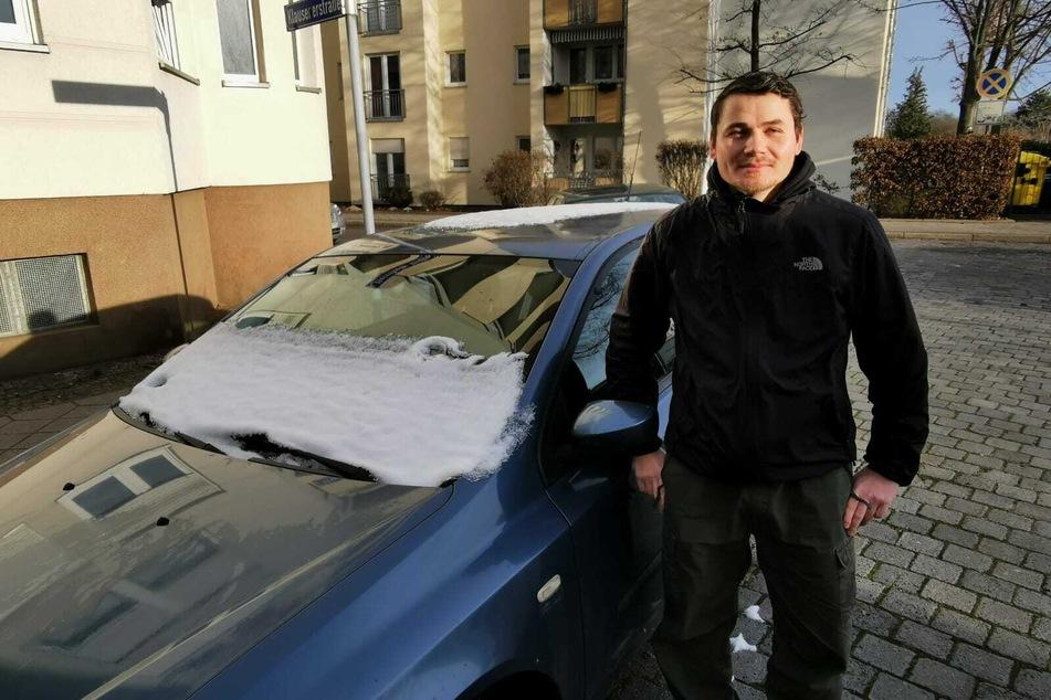 Danny Leisering (34) aus Leipzig fiel auf einen Betrüger bei Autoscout24 herein.