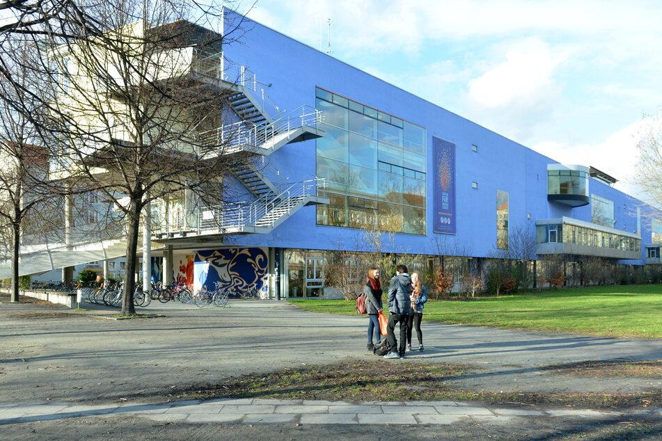 Das St. Benno-Gymnasium in Dresden.