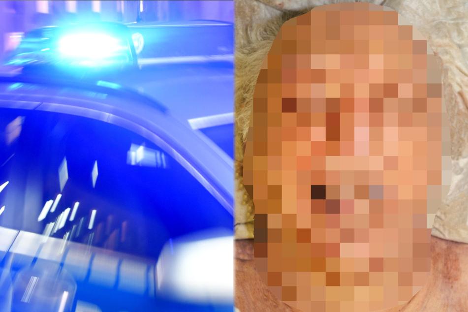 Die Polizei veröffentlichte ein Foto des unbekannten Toten aus Fulda.