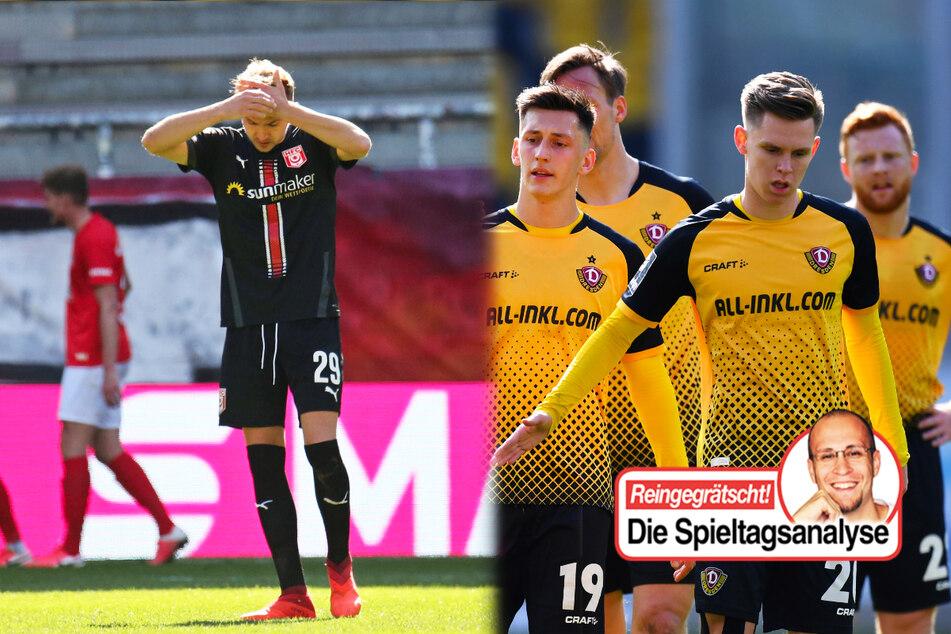 Dynamo zum zweiten Mal ohne eigenes Tor, Abstiegsangst beim HFC!