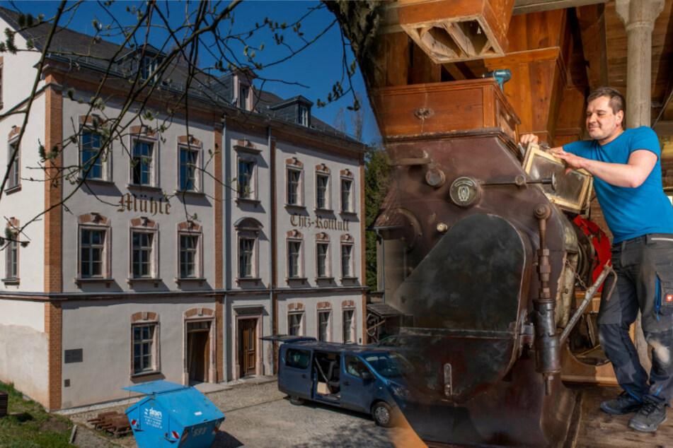 Sanierung geht voran: In diesem Haus wuchs Karl Schmidt-Rottluff auf