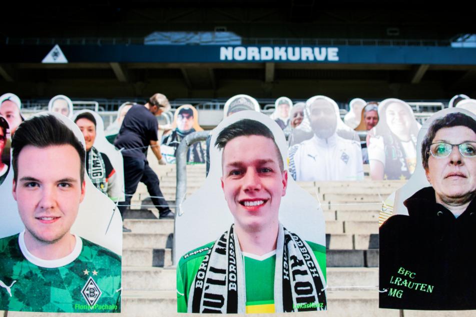 Dank einer Idee des Fanprojekts Mönchengladbach muss die Borussia nicht (ganz) ohne Zuschauer auskommen.