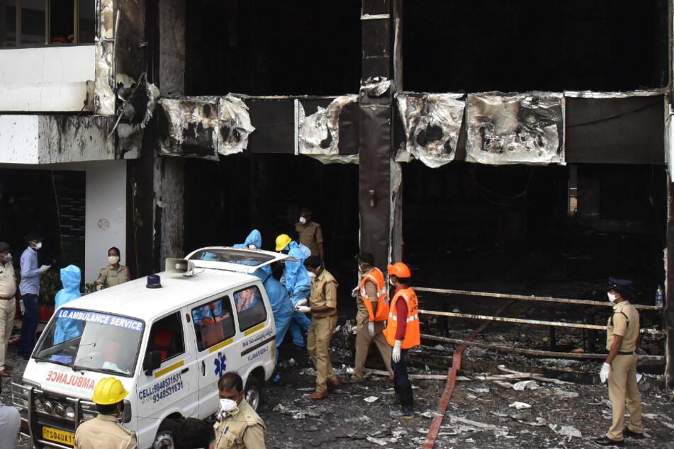 Zehnn Menschen sollen bei dem Brand ums Leben gekommen sein.