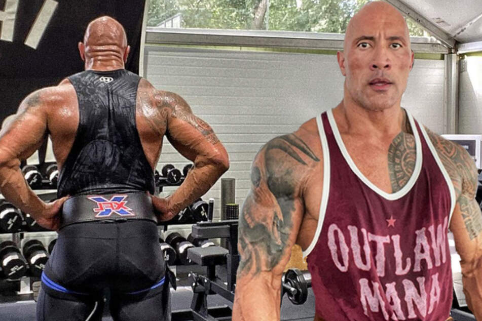 """Dwayne """"The Rock"""" Johnson is putting the final touches on an epic four-year tattoo project!"""