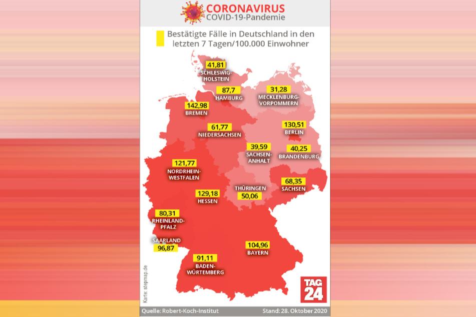Ein Land sieht rot: Deutschland bewegt sich in Richtung Komplett-Krisengebiet.