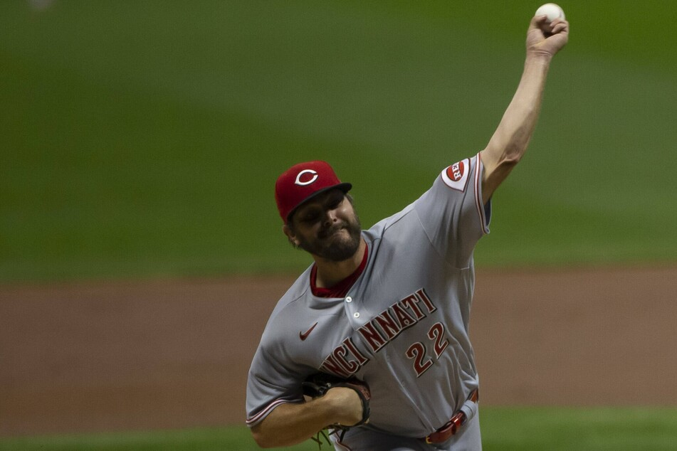Reds starting pitcher Wade Miley threw his first career no-hitter over the Indians on Friday night