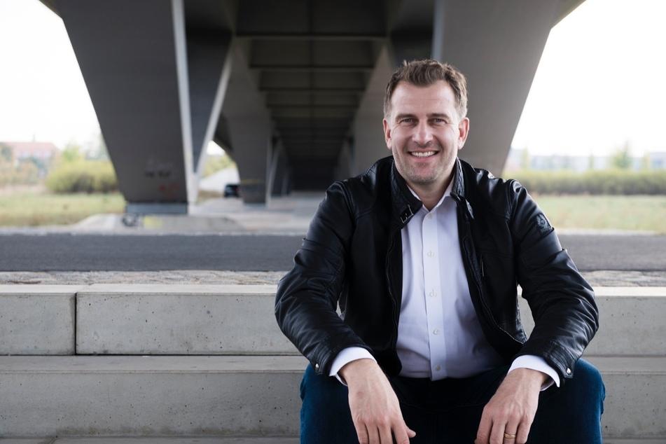 Moderator René Kindermann (45) freut sich auf seinen Einsatz fürs HOPE-gala-Team!