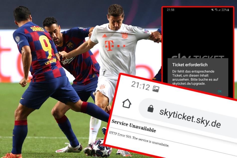 Riesen Sky-Panne: Zig Fans können Champions-League-Kracher nicht sehen und sind stinksauer