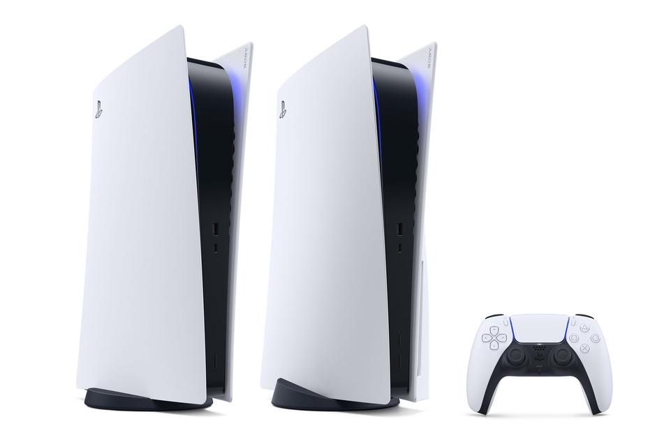 """Sonys neue Generation der """"PlayStation 5"""". Der Verkaufsstart der neuen Sony-Spielekonsole Playstation 5 hatte am 19. November 2020 die Online-Händler überwältigt."""