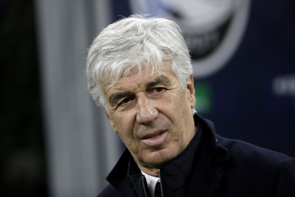 Atalantas Cheftrainer Gian Piero Gasperini.