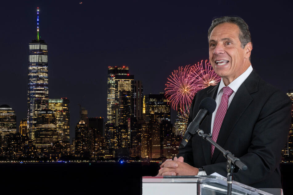 Cuomo announced the end of New York state's coronavirus state of emergency on Wednesday, after celebrating NYC's lifting of restrictions with fireworks last week.