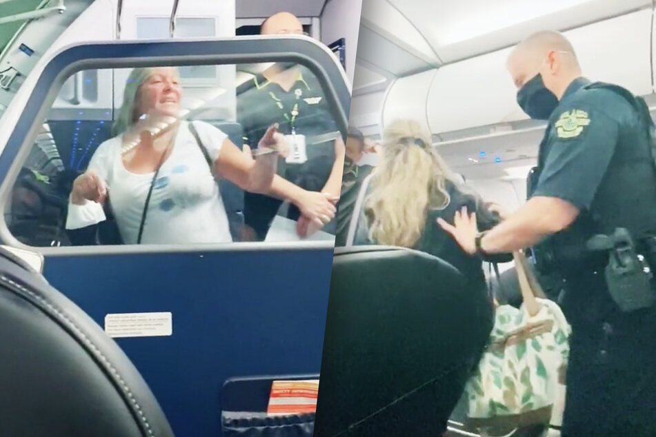 Women claim racism got them kicked off flight after not wearing masks