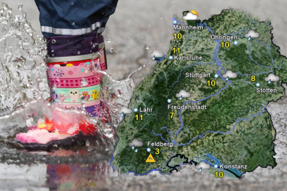 Wetter in Baden-Württemberg bleibt am Wochenende ungemütlich