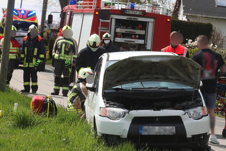 Frontalcrash in Hohenstein-Ernstthal: Zwei Verletzte