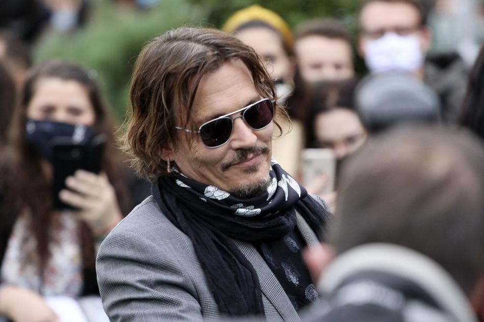 Johnny Depp at the 16th Zurich Film Festival.