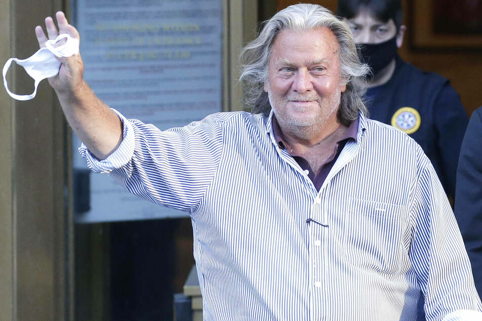 Trump pardons former strategist Steve Bannon and 72 others