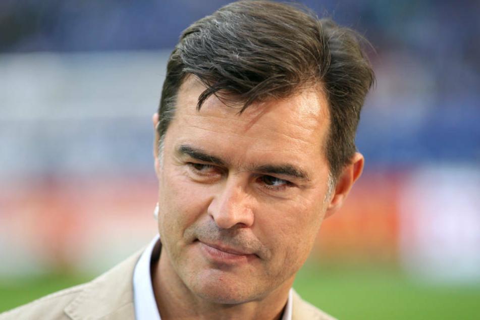 Thomas Berthold (55) war selbst zwischen 1978 und 1987 Adler-Träger und debütierte für die Eintracht am 12. März 1983 in der Fußball-Bundesliga (Archivbild).