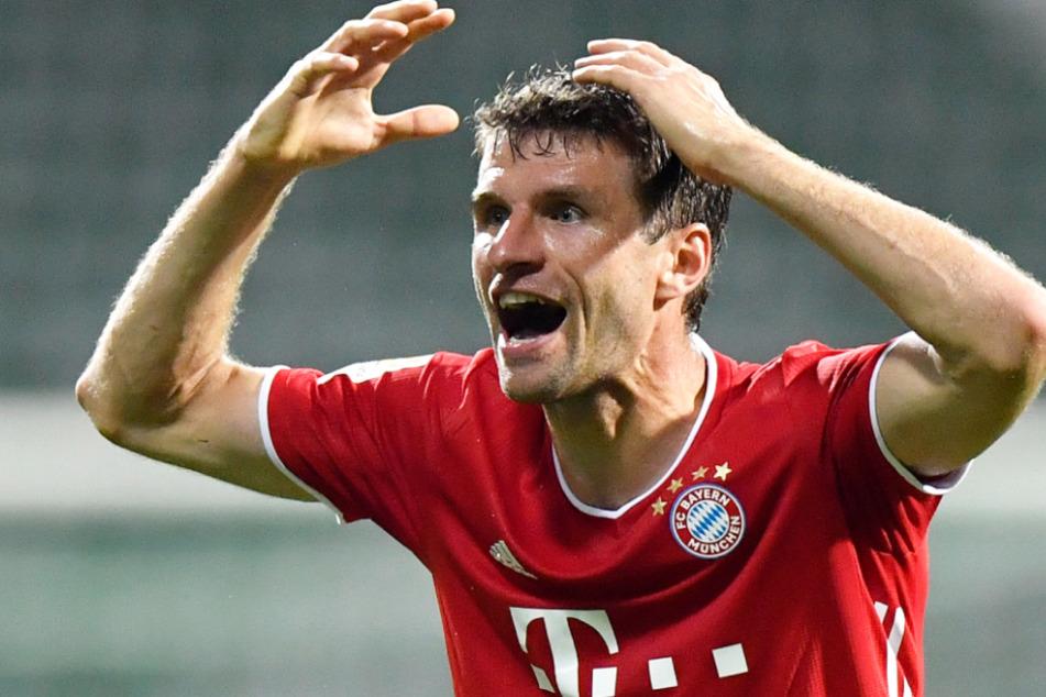 Thomas Müller (30) übt sich in Zurückhaltung.