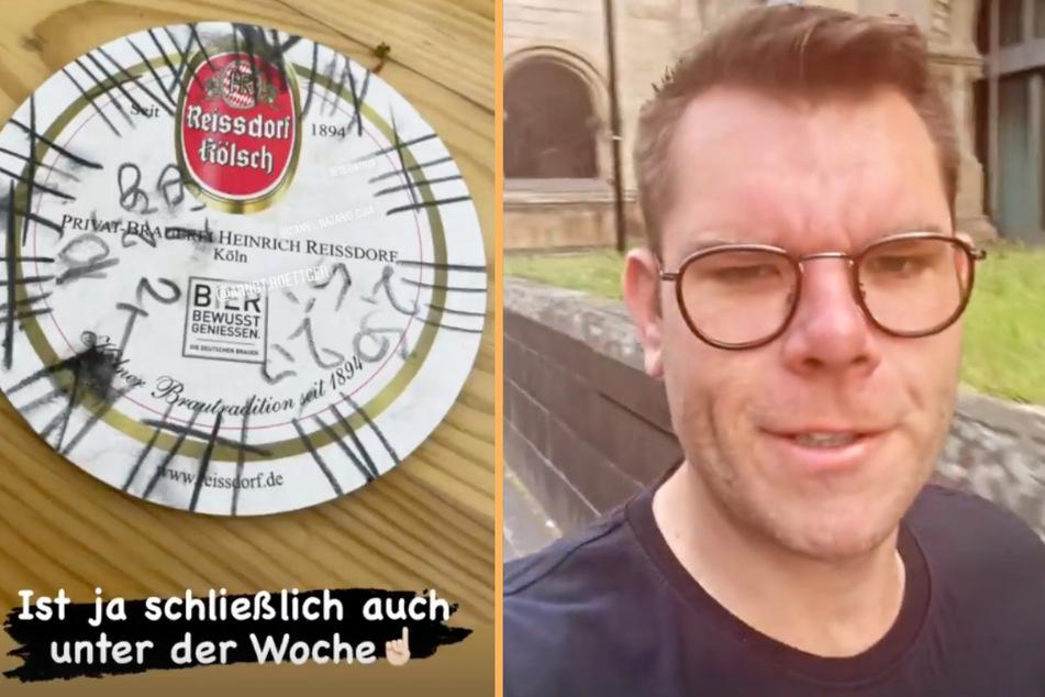 """Der frühere Star der RTLZWEI-Kuppelshow """"Traumfrau gesucht"""", Dennis Schick (33), machte am Morgen nach dem Deutschland-Spiel einen ziemlich fertigen Eindruck."""