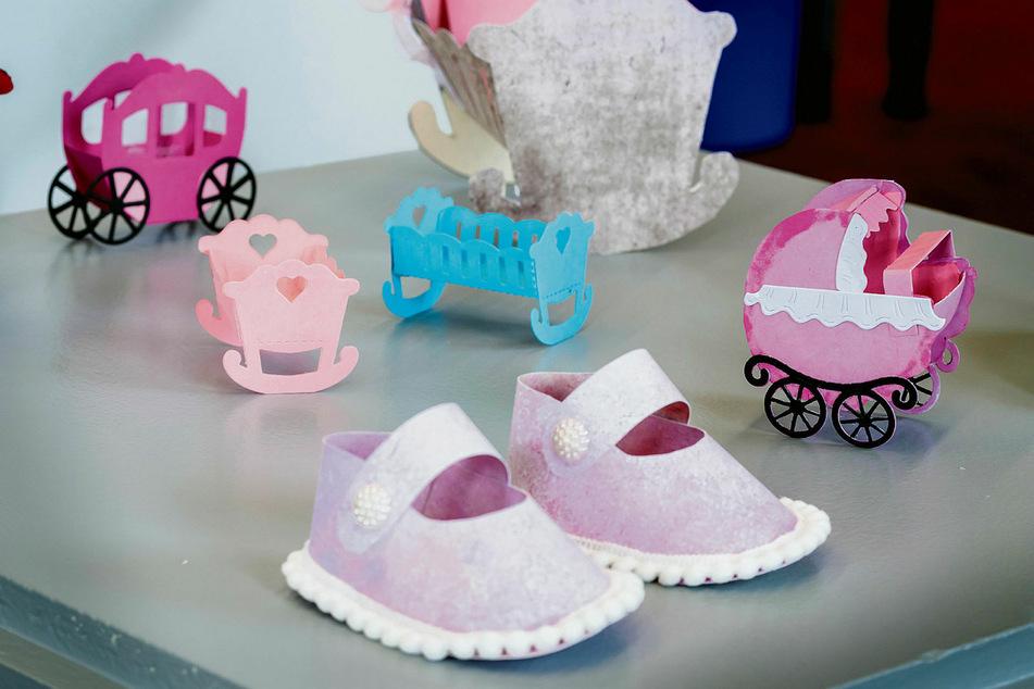 Ob Schuhe, Babykrippen oder Kinderwagen: Viele kleine Meisterwerke sind entstanden.