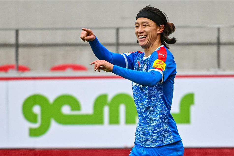 Jae-sung Lee (28) zeigte bei Holstein Kiel konstant starke Leistungen und war in 104 Spielen an 48 Toren direkt beteiligt. Indirekt waren es noch viele mehr.