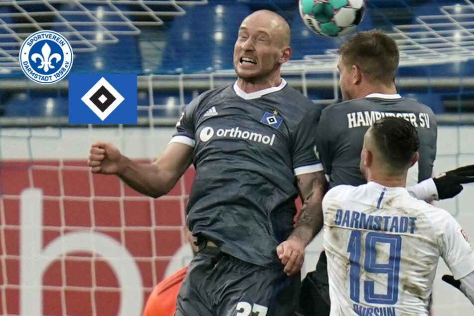 Auf Gähn-Kick folgt heiße Schlussphase: Doppelter Terodde sichert HSV-Sieg in Darmstadt!