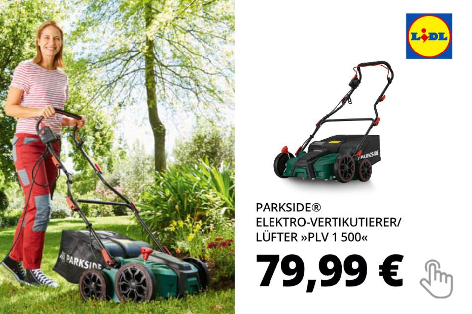 PARKSIDE® Elektro-Vertikutierer/ Lüfter »PLV 1 500«