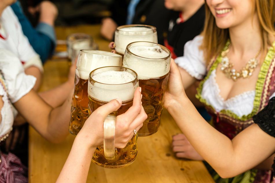 Das 'Sächsisch-Bayerische Oktoberfest' in Zwickau wird wegen Corona abgesagt (Symbolbild).