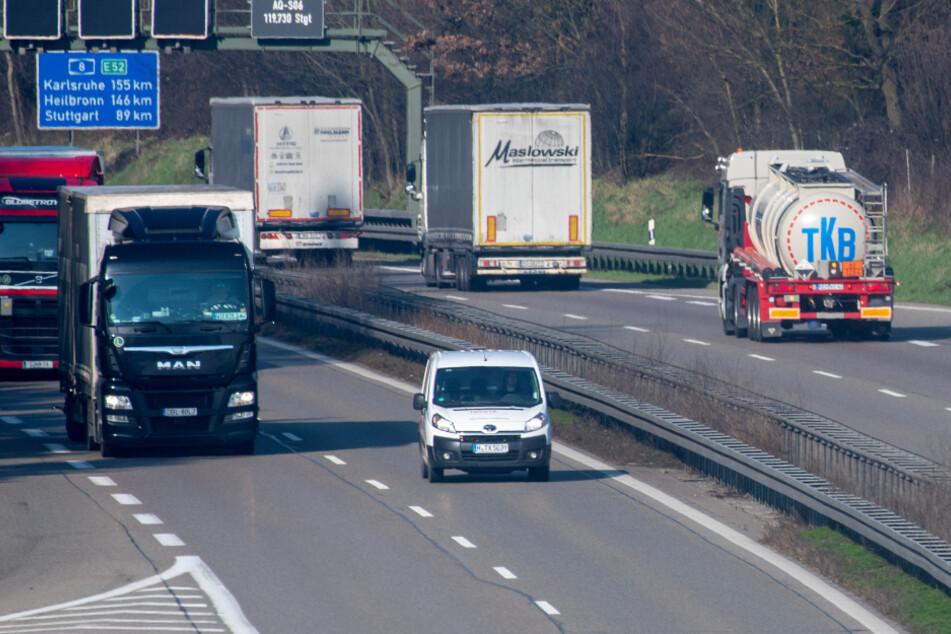 Autofahrer müssen sich auf der A8 auf Behinderungen einstellen