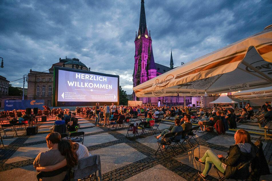 Mit Abstand(sregeln) weniger Besucher: Auch die Filmnächte auf den Theaterplatz kämpfen im Ausnahme-Jahr 2020.